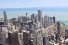 Travelnews.lv apmeklē Čikāgas augstākās ēkas Vilisa torņa skata platformu «Skydeck Chicago». Atbalsta: Finnair 1