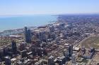 Travelnews.lv apmeklē Čikāgas augstākās ēkas Vilisa torņa skata platformu «Skydeck Chicago». Atbalsta: Finnair 2