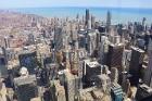 Travelnews.lv apmeklē Čikāgas augstākās ēkas Vilisa torņa skata platformu «Skydeck Chicago». Atbalsta: Finnair 5