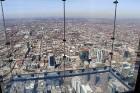 Travelnews.lv apmeklē Čikāgas augstākās ēkas Vilisa torņa skata platformu «Skydeck Chicago». Atbalsta: Finnair 11