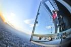 Travelnews.lv apmeklē Čikāgas augstākās ēkas Vilisa torņa skata platformu «Skydeck Chicago». Atbalsta: Finnair 22