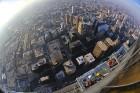 Travelnews.lv apmeklē Čikāgas augstākās ēkas Vilisa torņa skata platformu «Skydeck Chicago». Atbalsta: Finnair 24
