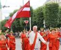 Dziesmu un deju svētku atklāšanas gājiens pulcē Rīgā visus Latvijas novadus (201-300) 5