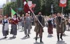 Dziesmu un deju svētku atklāšanas gājiens pulcē Rīgā visus Latvijas novadus (201-300) 21