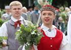 Dziesmu un deju svētku atklāšanas gājiens pulcē Rīgā visus Latvijas novadus (201-300) 28