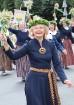 Dziesmu un deju svētku atklāšanas gājiens pulcē Rīgā visus Latvijas novadus (201-300) 32
