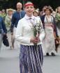 Dziesmu un deju svētku atklāšanas gājiens pulcē Rīgā visus Latvijas novadus (201-300) 42
