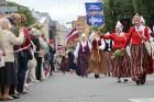 Dziesmu un deju svētku atklāšanas gājiens pulcē Rīgā visus Latvijas novadus (201-300) 82