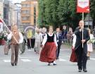 Dziesmu un deju svētku atklāšanas gājiens pulcē Rīgā visus Latvijas novadus (201-300) 85