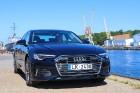Travelnews.lv ar jauno Audi A6 iepazīst 5 zvaigžņu viesnīcas «Promenade Hotel Liepaja» viesmīlību 2