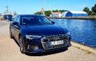 Travelnews.lv ar jauno Audi A6 apceļo vēju pilsētu Liepāju 42