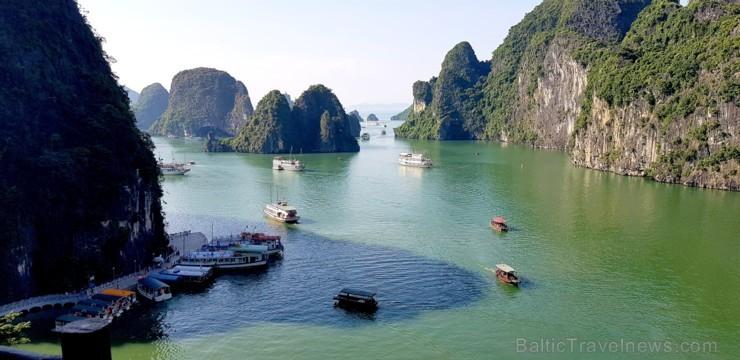 Travelnews.lv apmeklē UNESCO pasaules mantojumu Vjetnamā - Halongas līcis. Sadarbībā ar 365 brīvdienas un Turkish Airlines