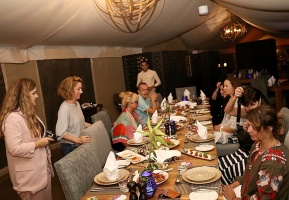 Travelnews.lv izbauda 5 zvaigžņu viesnīcas «Kingfisher Lodge» vakariņas un brokastis. Atbalsta: VisitSharjah.com un Novatours.lv 4