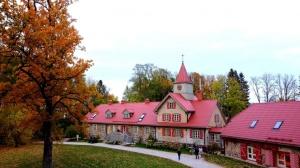 «Rankas muiža» ietērpusies košās rudens krāsās. Foto: Rankasmuiza.lv 15