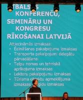ATTA Centre 15.10.2020 tiek organizēts Pasākumu Tūrisma dienu & Latvijas Konferenču Vēstnešu forums 25